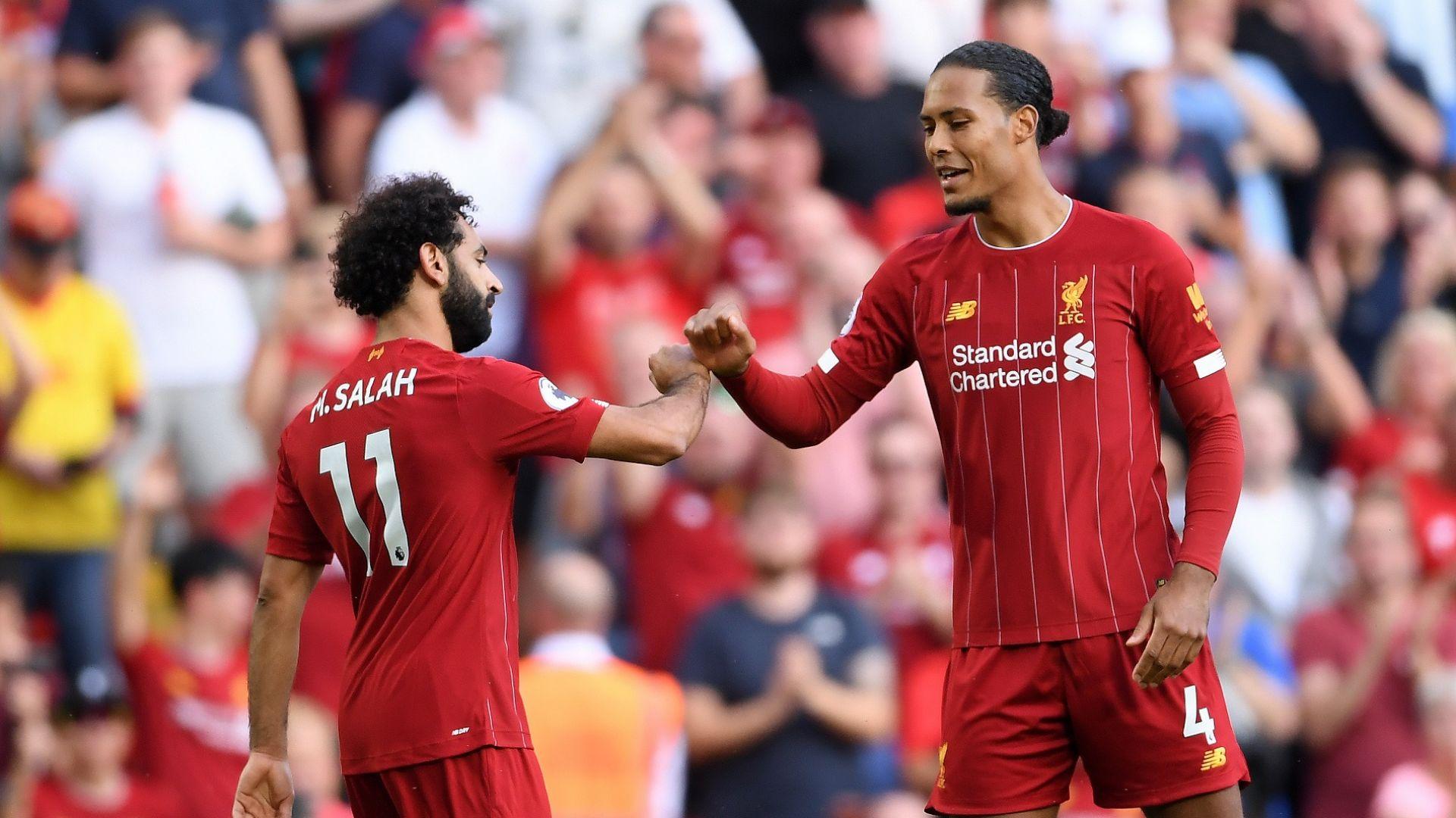 Салах отказа Арсенал, а Ливърпул продължава без грешка
