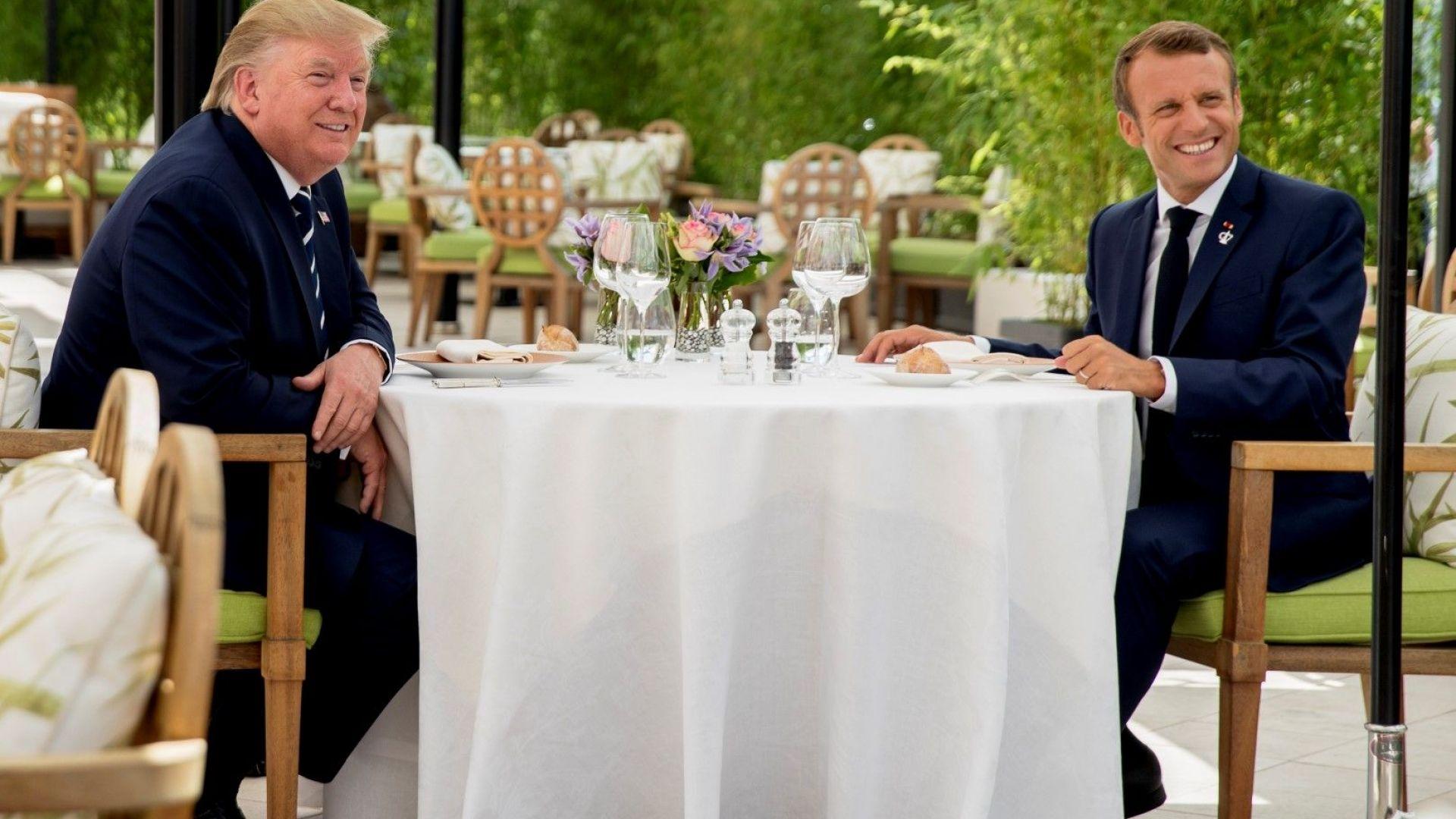 Френският президент Еманюел Макрон е представил детайлите от френския план