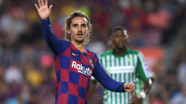 Гризман даде тон за бой на Барселона