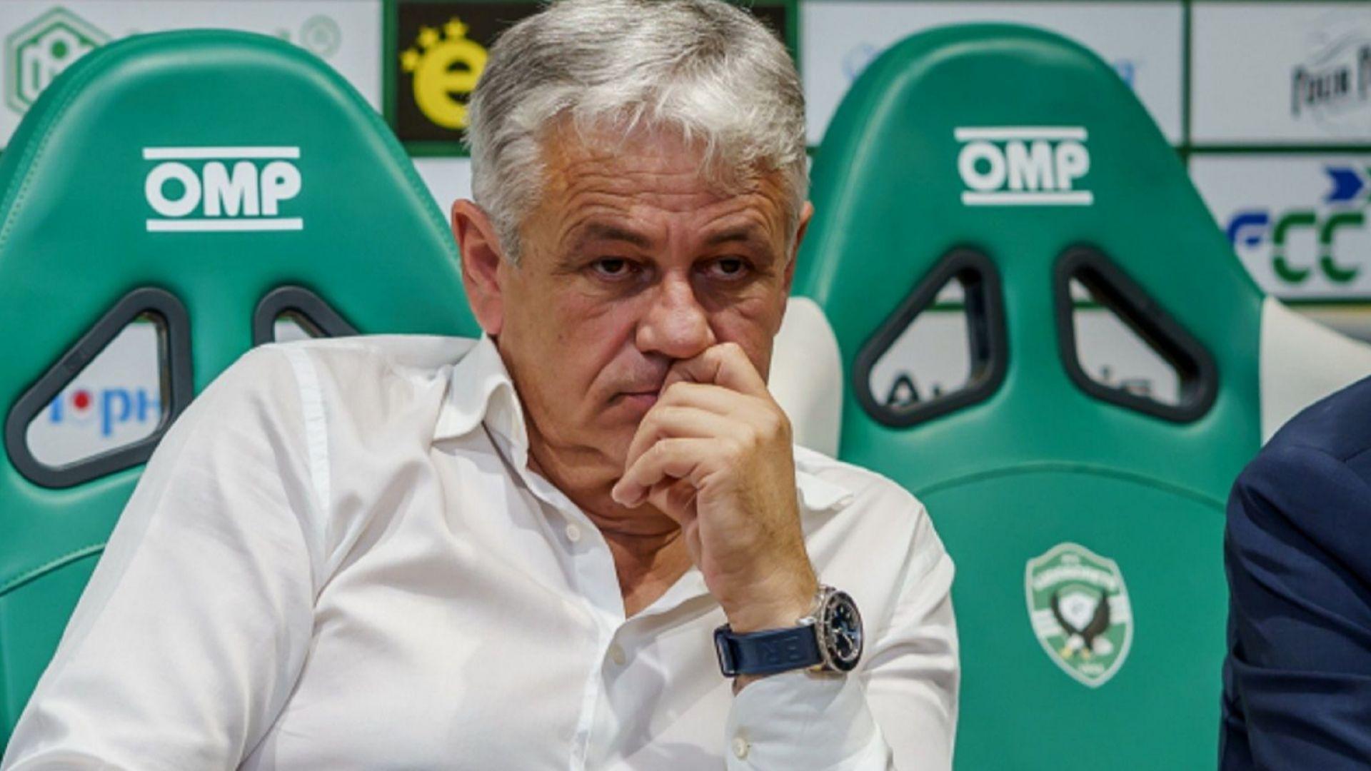 Треньор на Лудогорец - една от най-несигурните професии у нас
