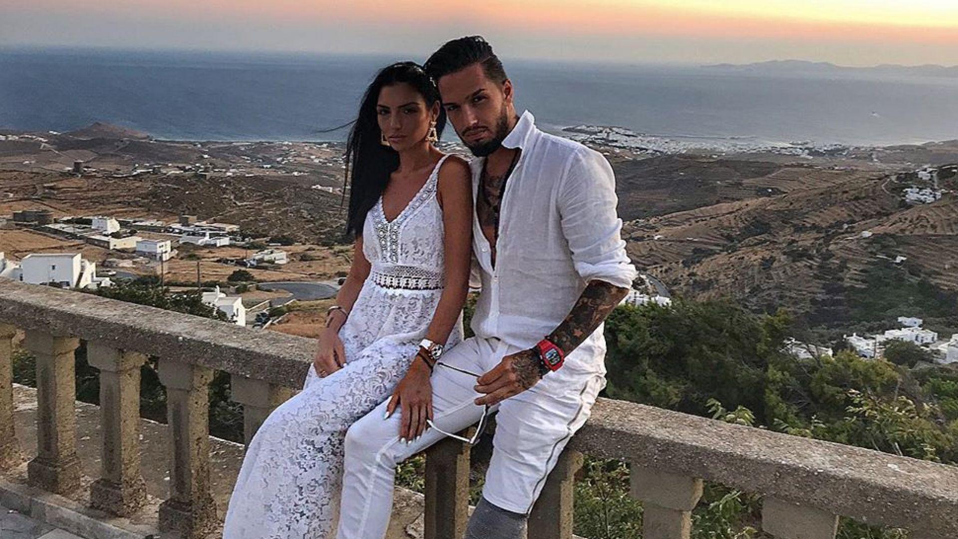 Джино Бианкалана се ожени на Тасос (снимки)