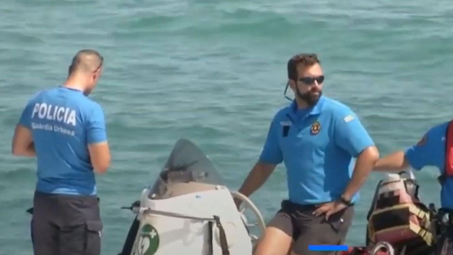 Показаха бомба, довела до евакуация на плажове в Барселона