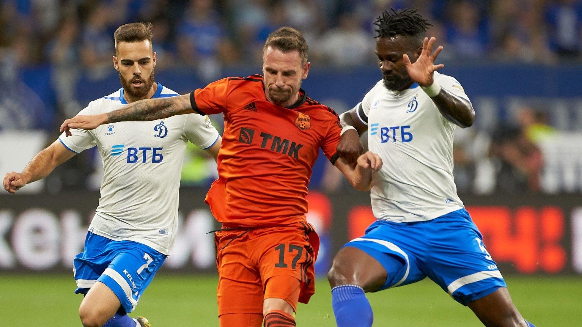 Националът Николай Димитров блести при успех на Урал в Русия