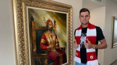 ЦСКА се похвали със звезден трансфер