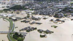 Мащабна евакуация на десетки хиляди в Япония заради наводнения
