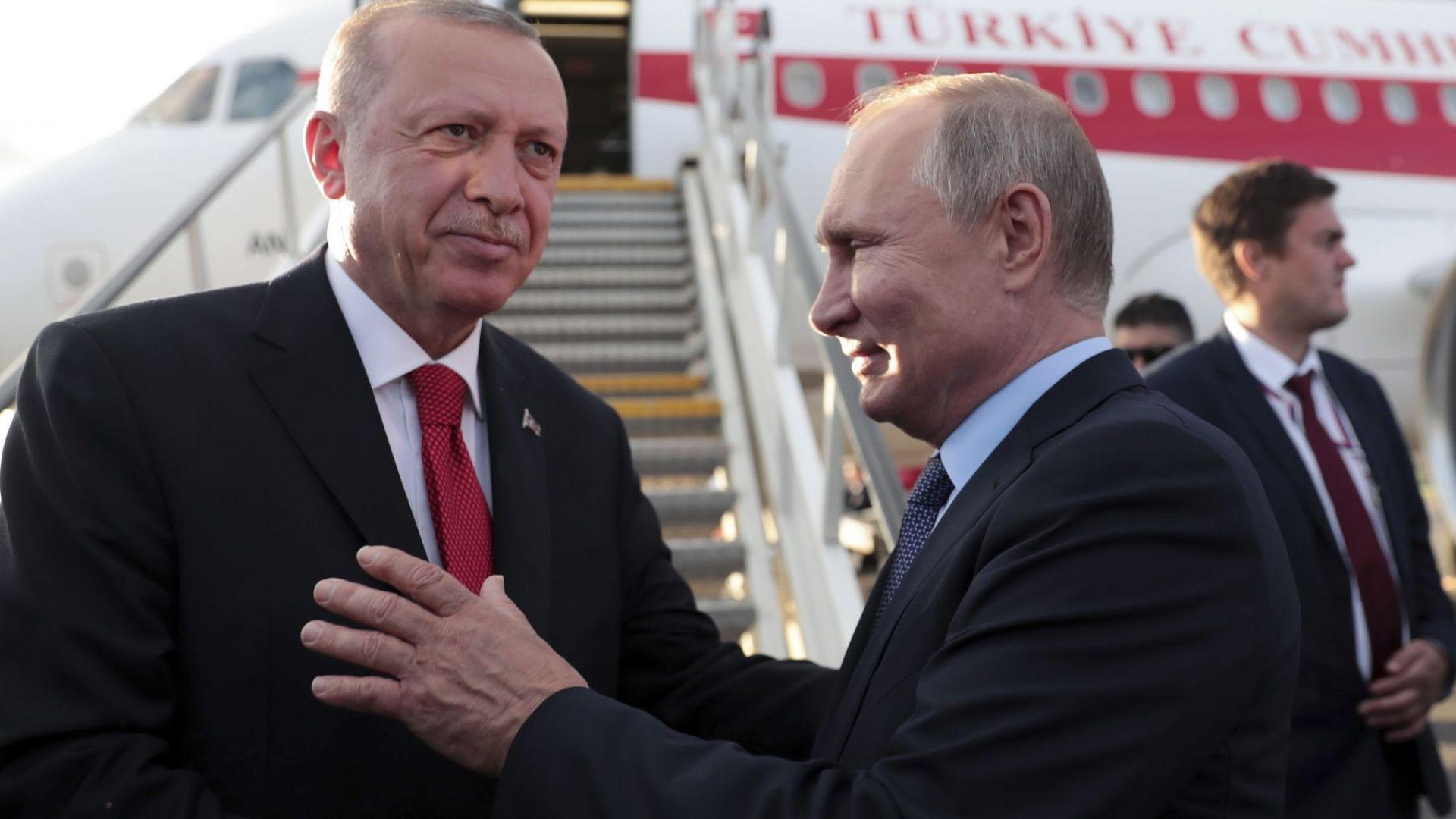 Путин заяви, че с руските С-400 Турция е надеждно защитена