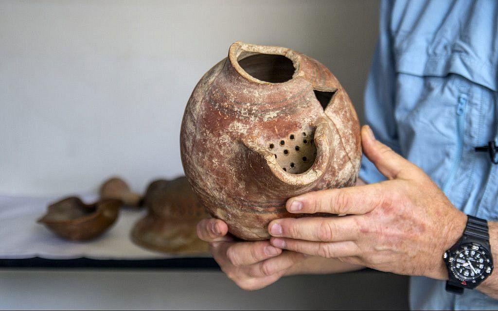 Бирена делва, открита в древния Гат, днешен Израел.