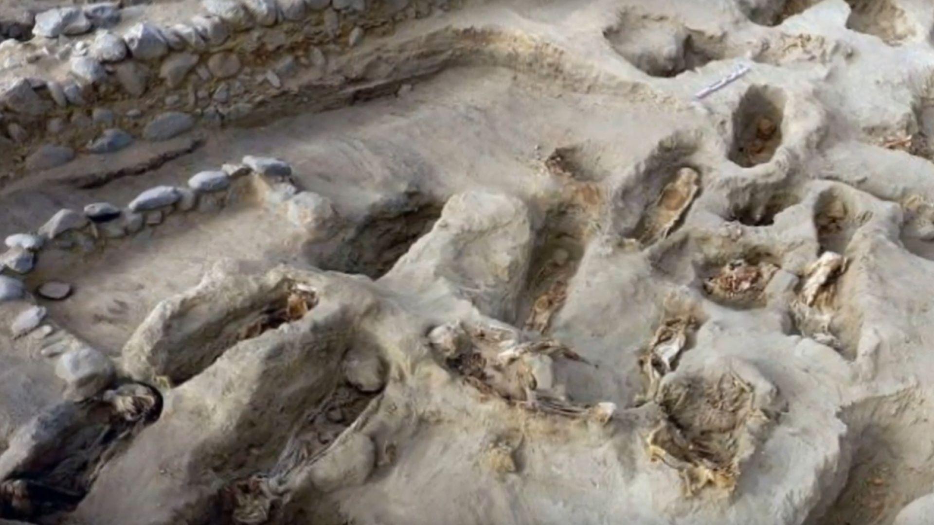 Археолози са открили в Перу телата на 227 деца, пожертвани