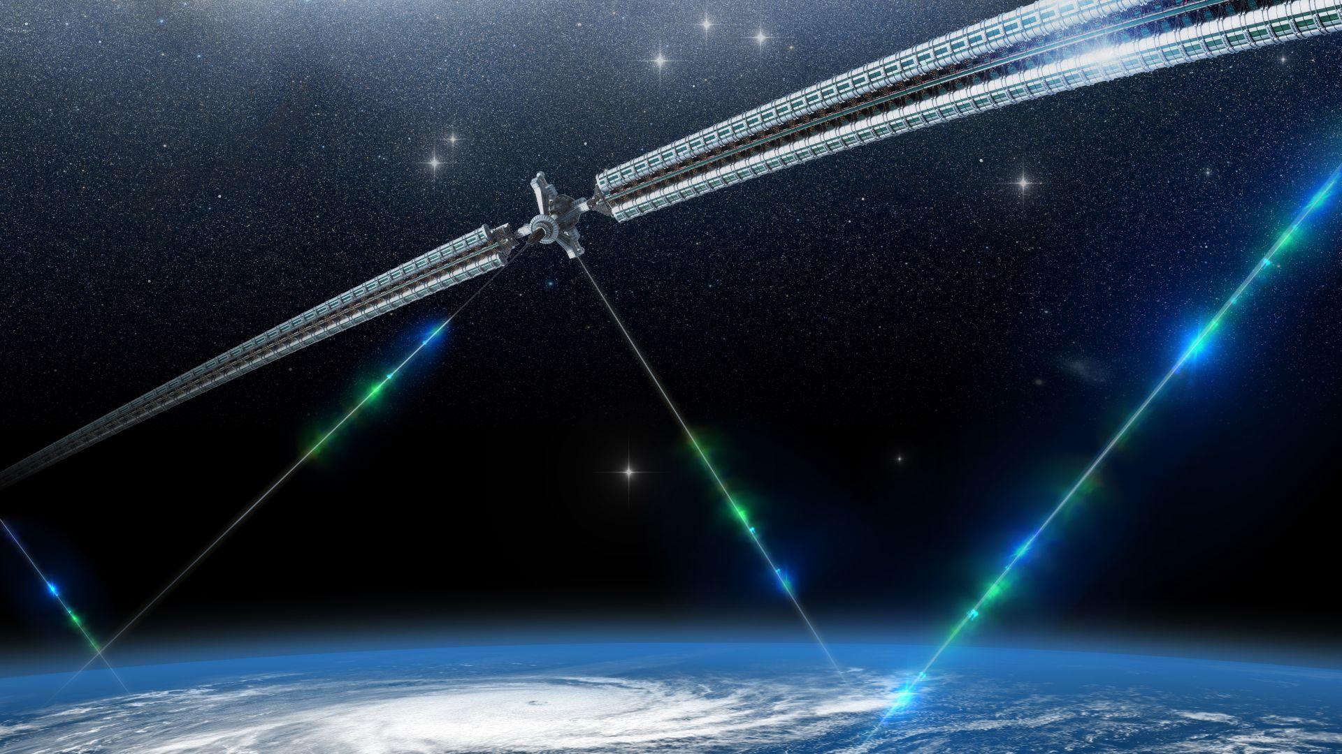 Учени искат да опънат кабел между Земята и Луната