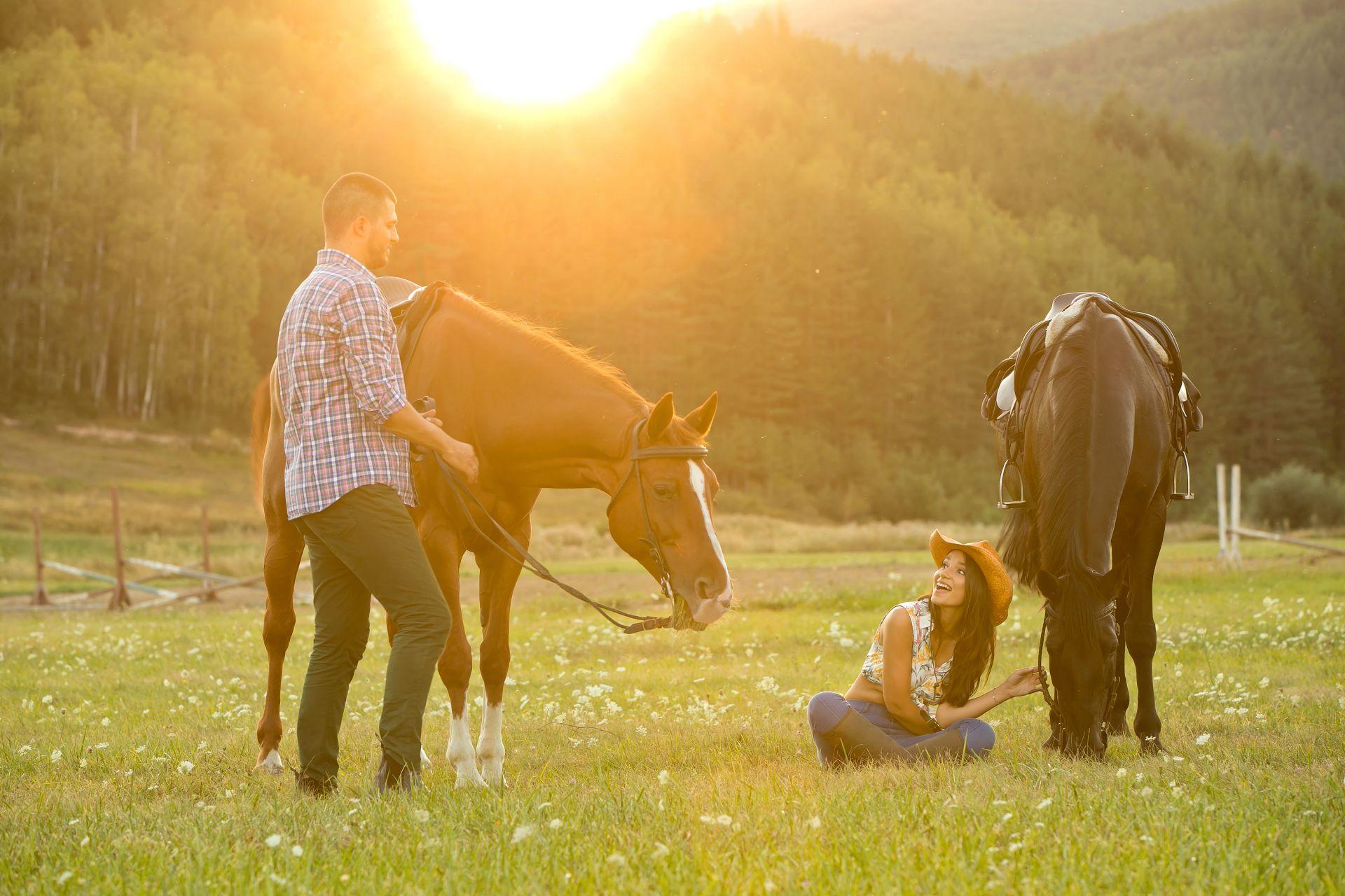 Съгласни са да живеят в ранчото, но когато им дойде времето