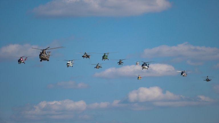 Руските хеликоптери