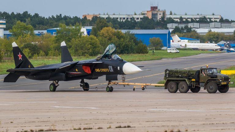 Тестовият Су-47