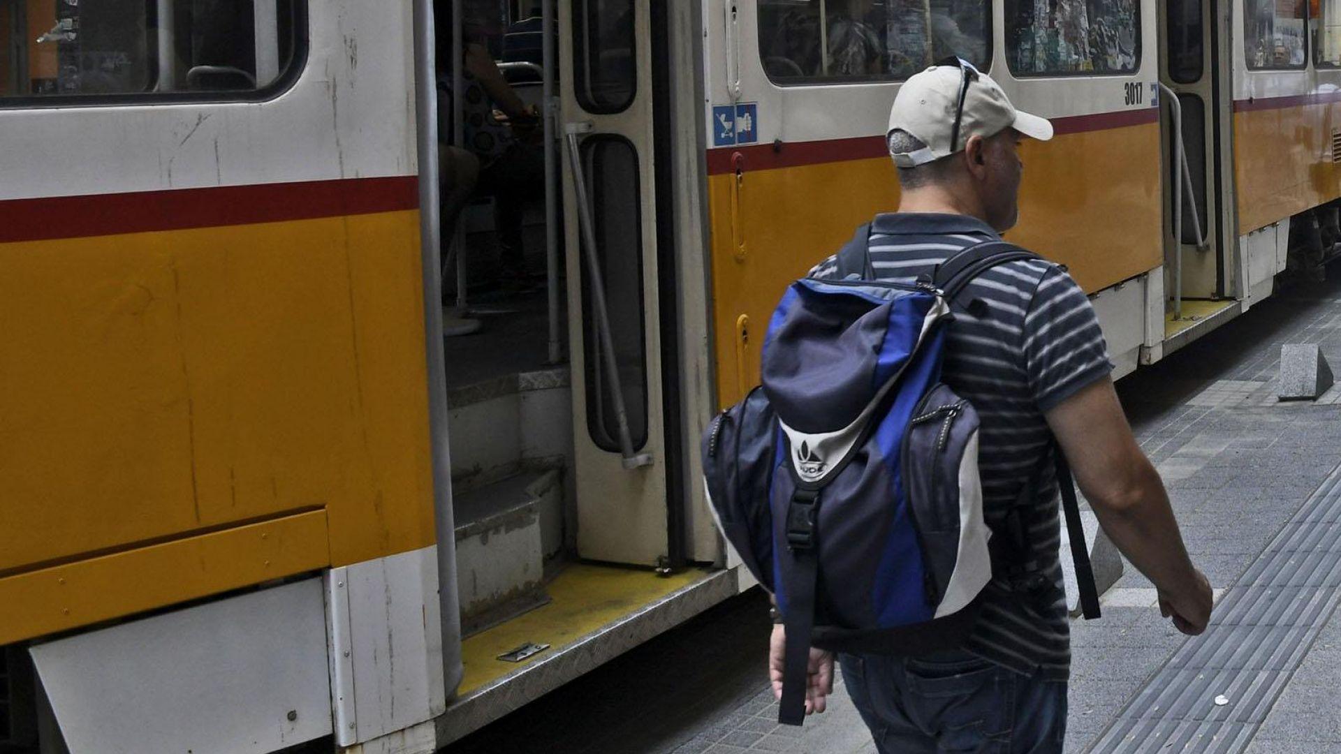 """Трамвай потегли без ватман на """"Графа"""""""