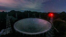 Нов китайски телескоп може да засече извънземни, преди да ни атакуват