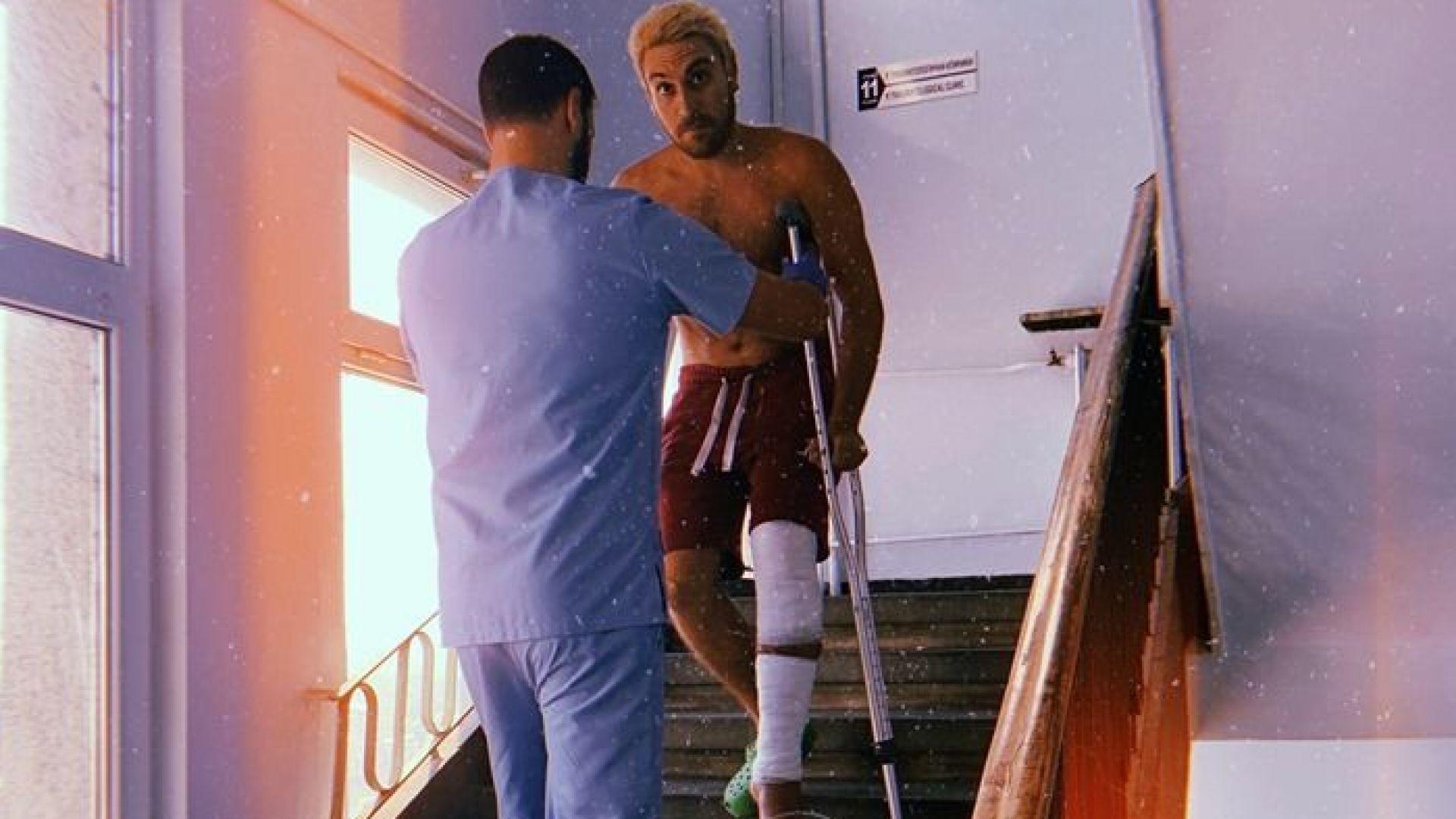 Бебо Халваджиян след катастрофата: Лежиш безпомощно, а шофьорите те подминават