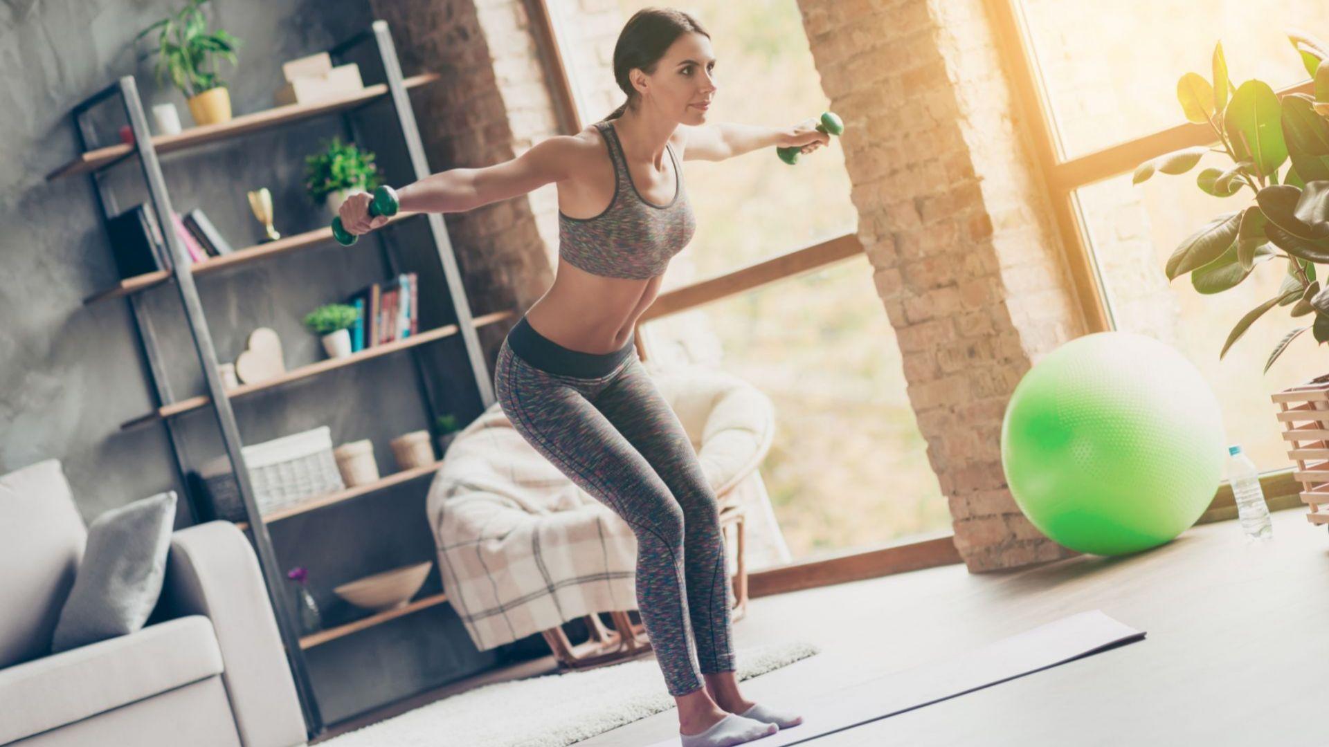 Как да поддържаме добра форма у дома