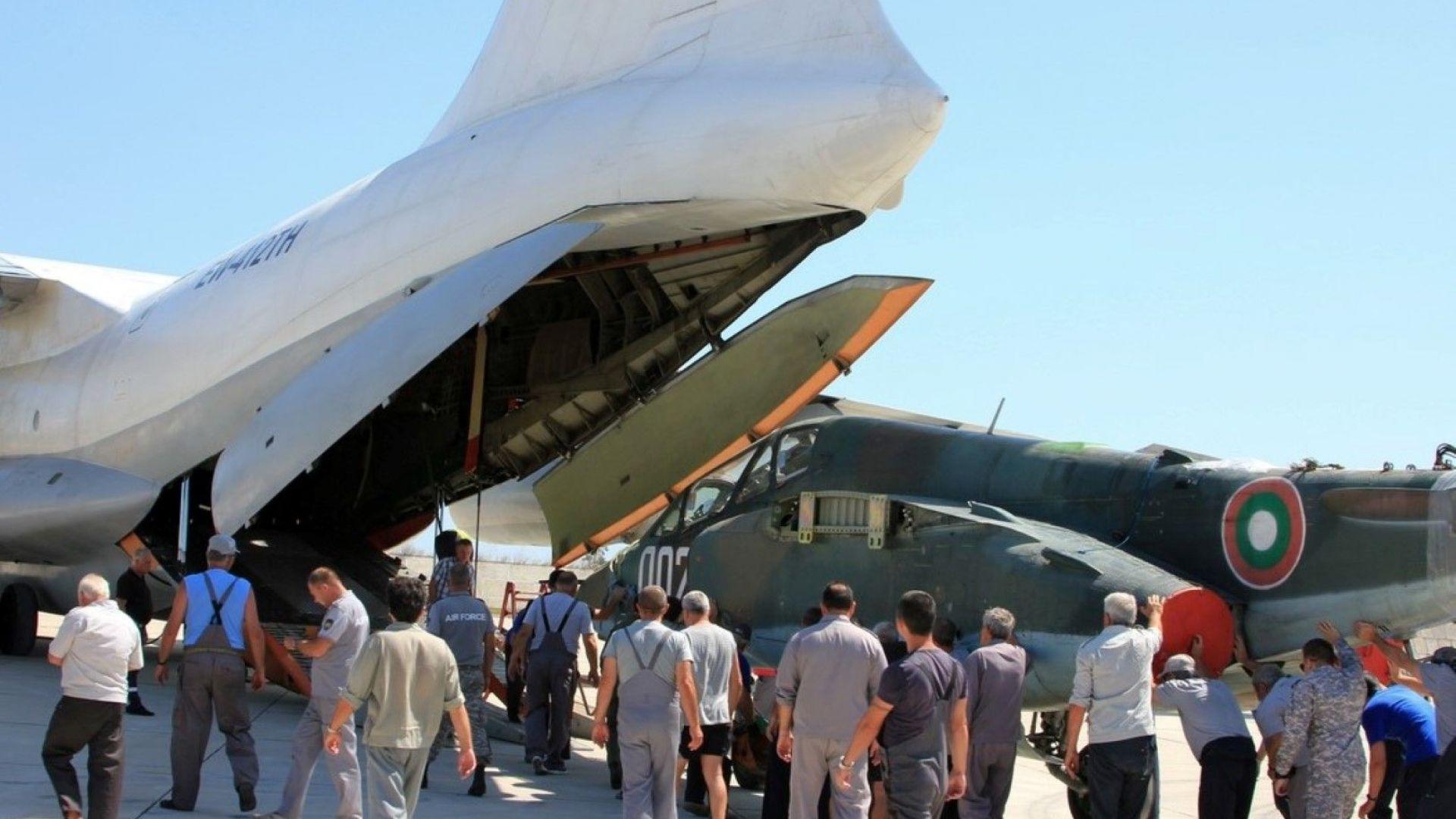 Започна ремонтът на нашите изтребители Су-25 в Беларус