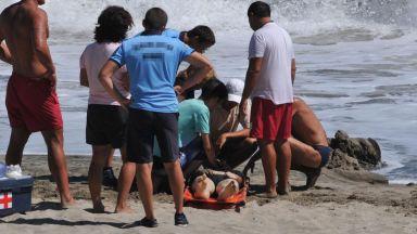 Спасителна акция на деца завърши с трагично загинали в морето край Синеморец
