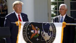 Тръмп възроди космическите войски на САЩ от ерата на Студената война