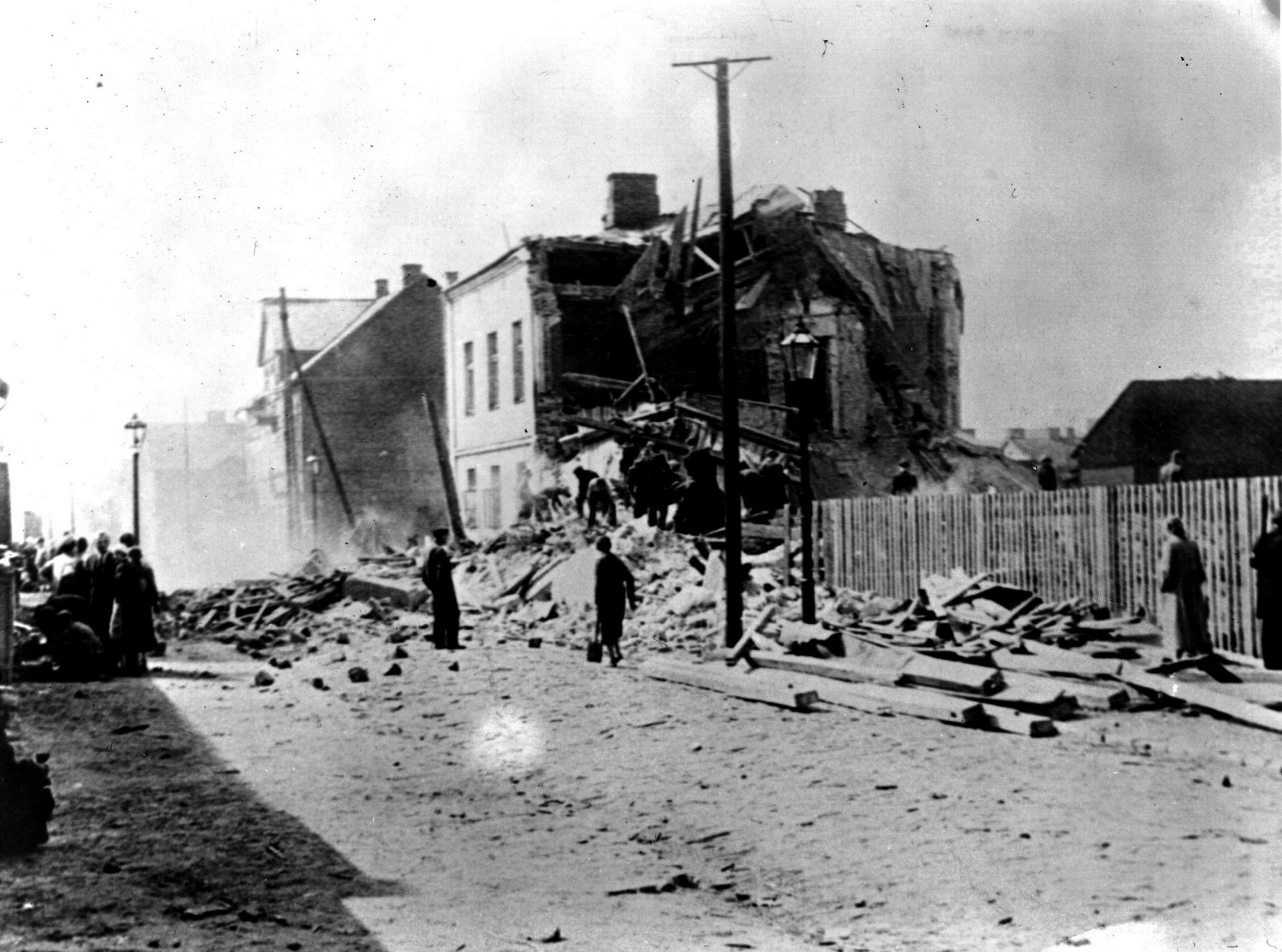 Октомври, 1939 г.: Варшава