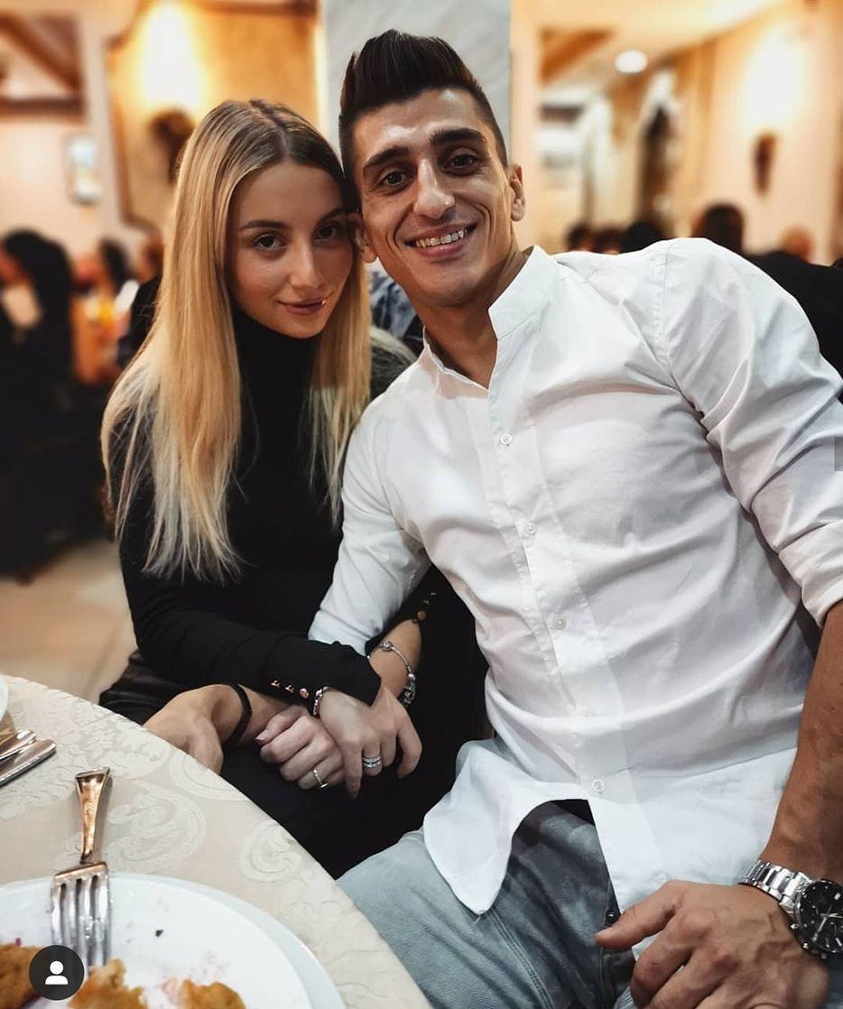 Михаела Маринова и приятелят ѝ Александър Дюлгеров