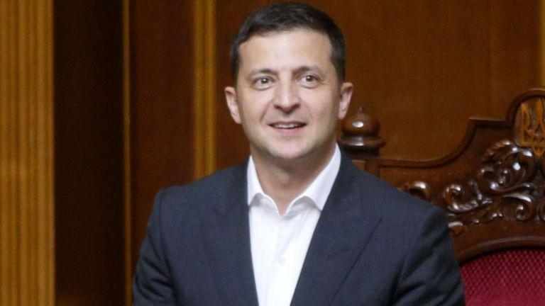 Украинският президент Володимир Зеленски е поискал провеждане на разговори с