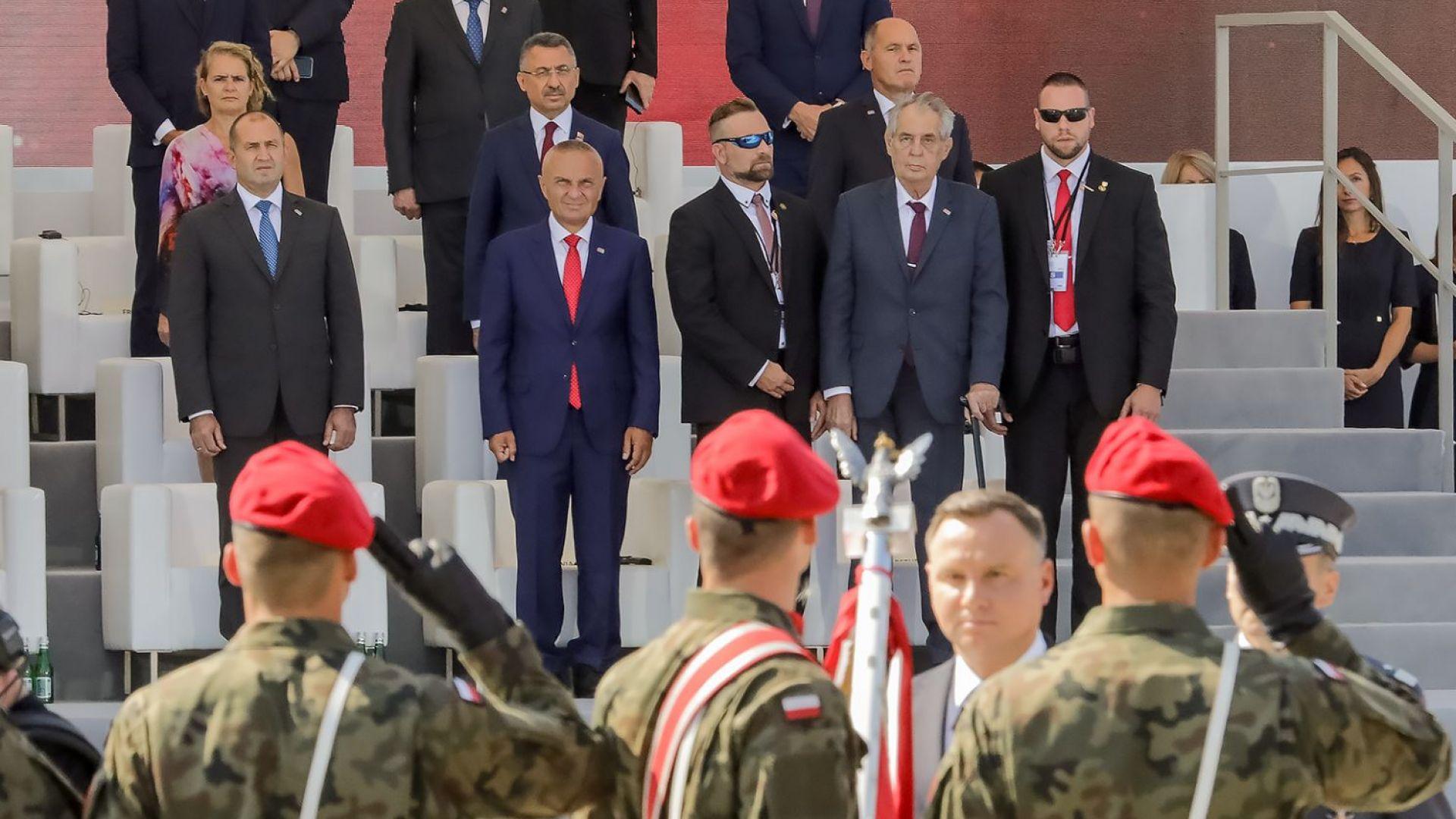 Радев заклейми споровете за световно лидерство и надпреварата във въоръжаването