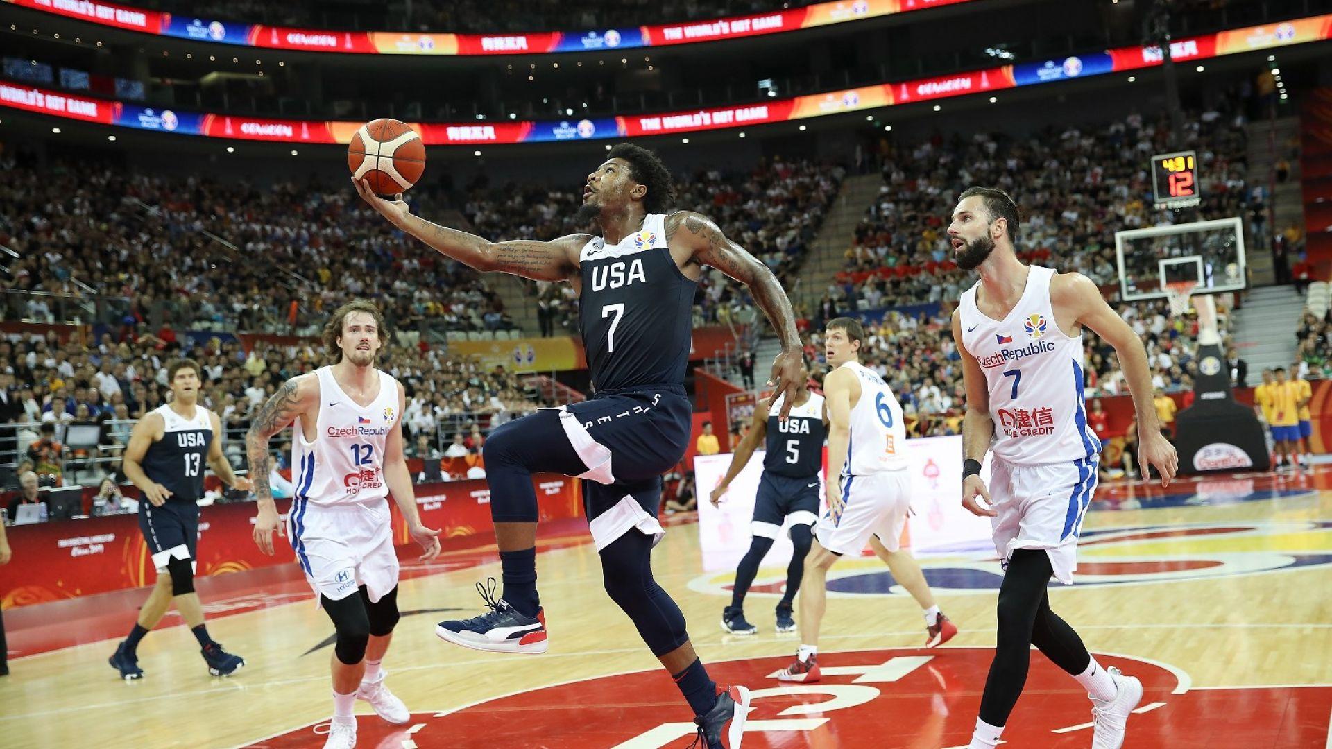 Звездите от НБА с комфортна победа на старта на Световното