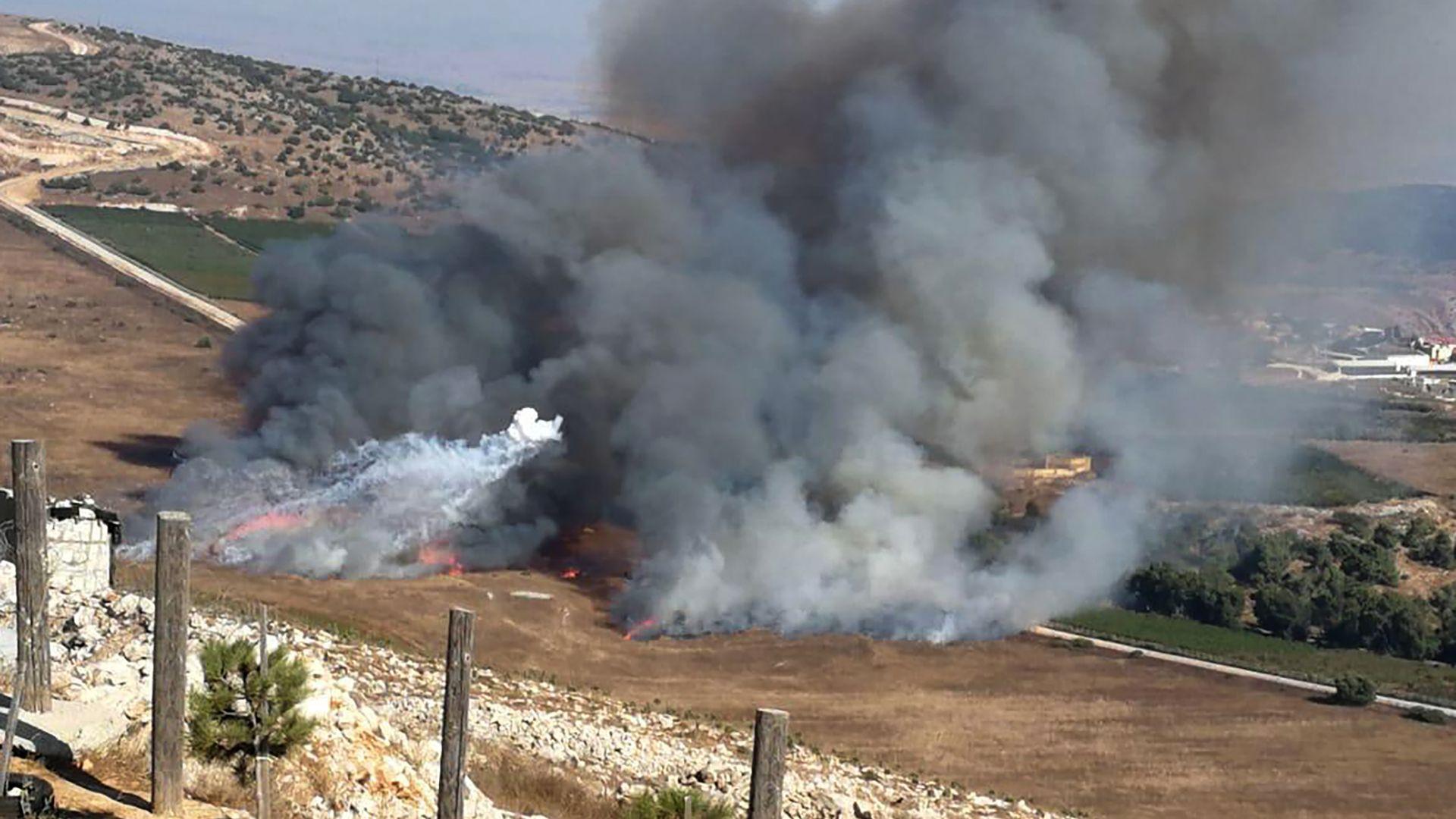 Размяна на огън между Израел и Хизбула по ливанската граница