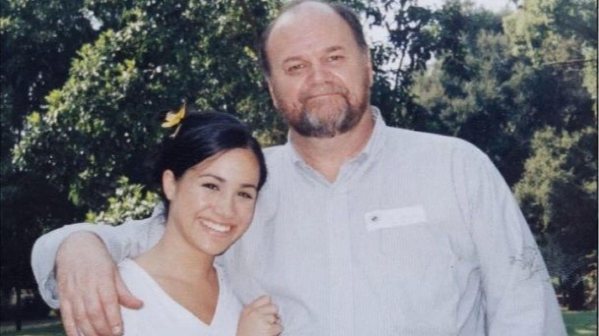 Бащата на Меган я критикува, че го е изолирала от живота си