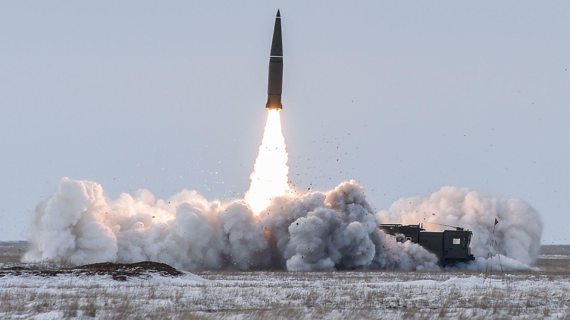 """Русия показа как изглежда удар с """"Искандер"""""""