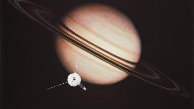 40 години от първото посещение на Сатурн (снимки)