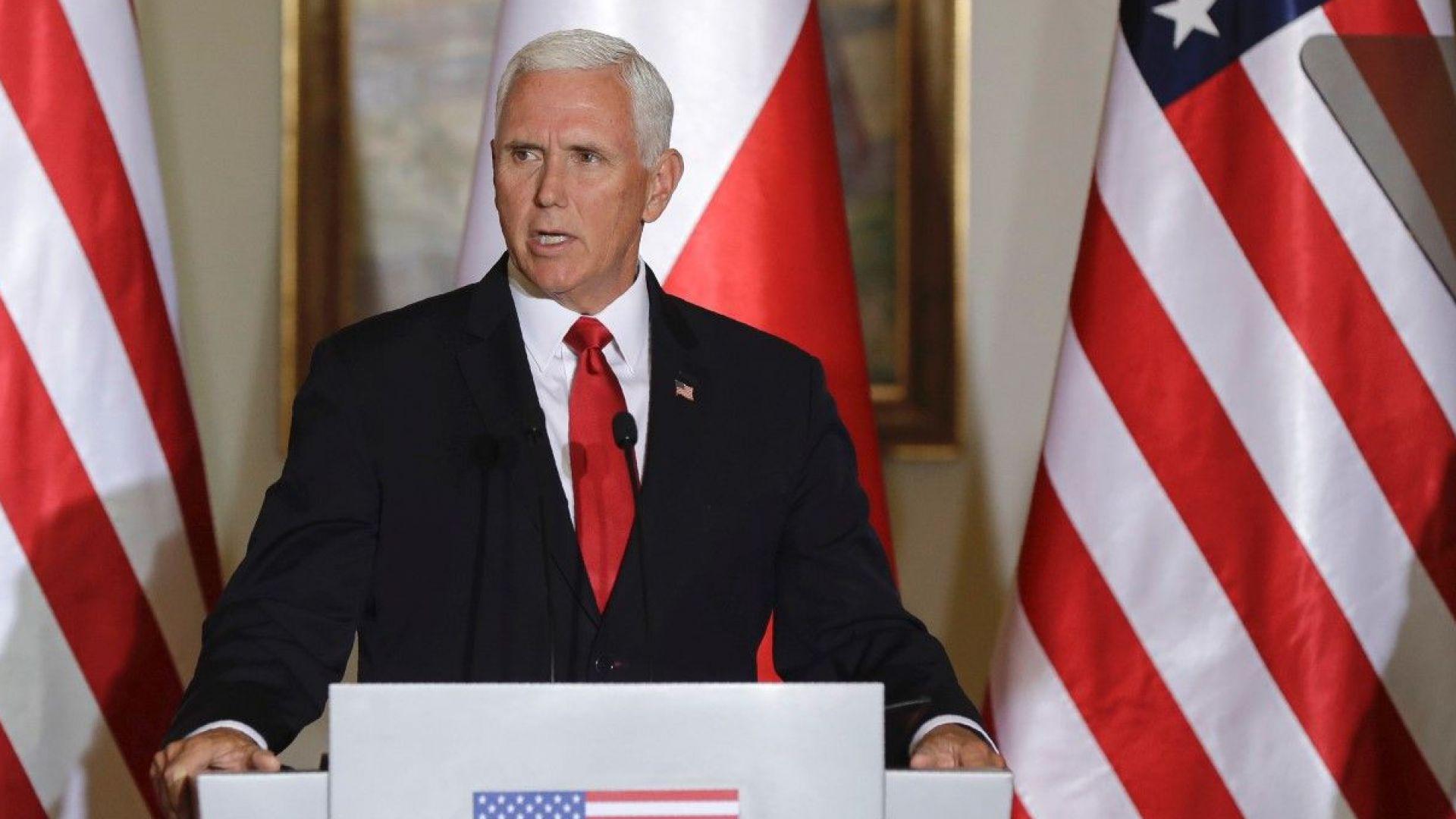 Майк Пенс призова да се внимава за руска намеса в избори по света