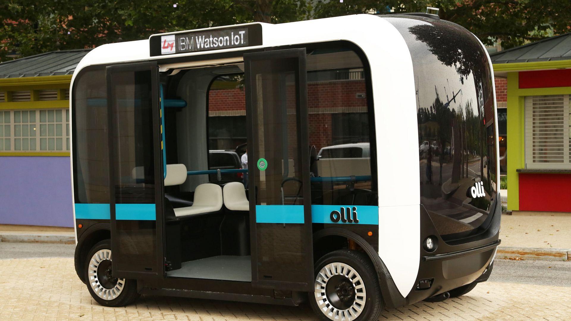 Olli 2.0 е първия в света 3D принтиран автономен автобус