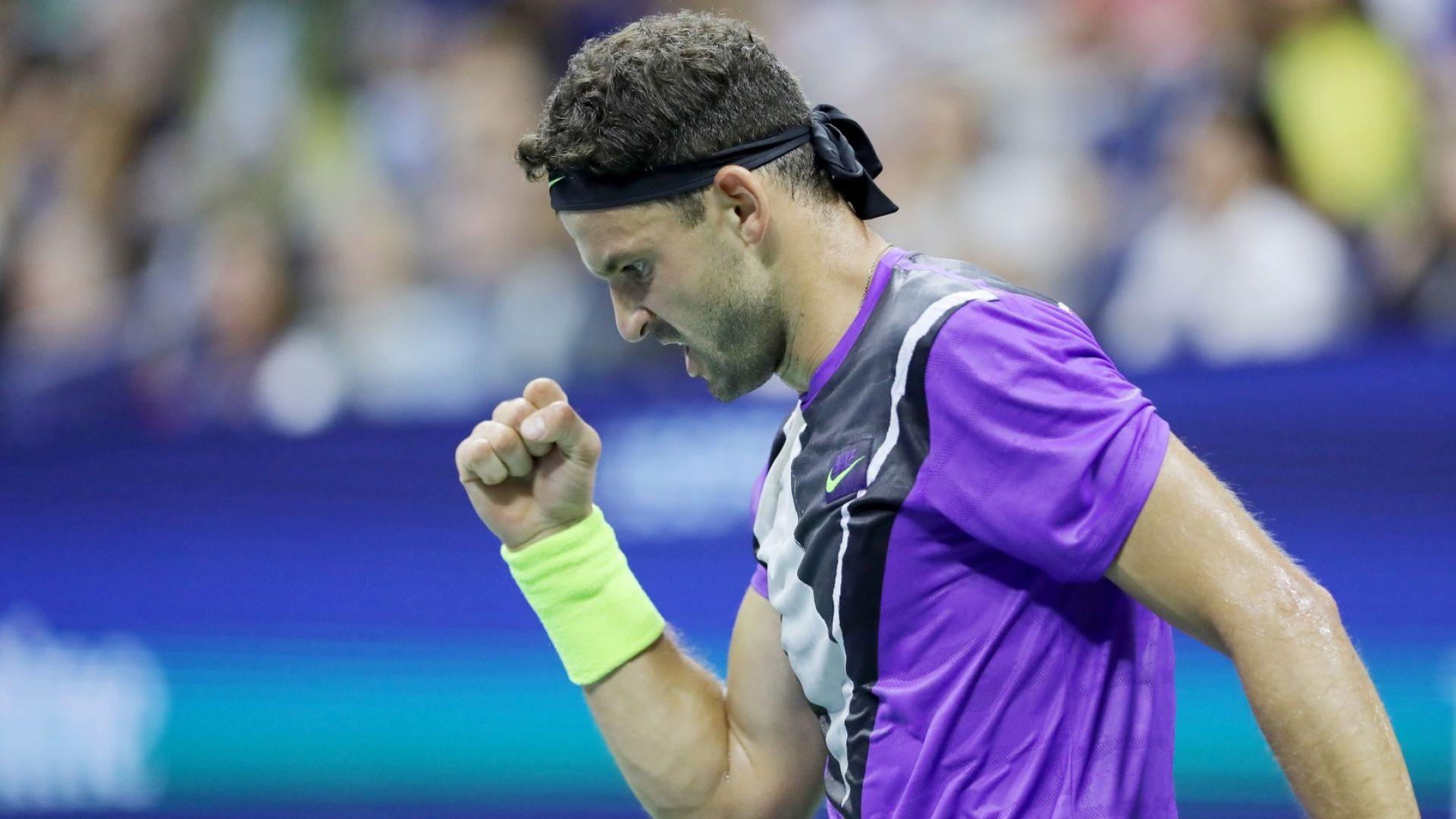 Стана ясно кога Григор излиза в битката за финал на US Open