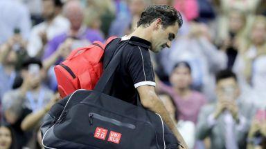 Федерер: Това е моментът на Григор, а не на моя гръб