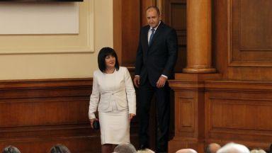 Президентският главен секретар отвърна на огъня на Караянчева