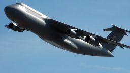 Това е най-големият транспортен самолет на САЩ