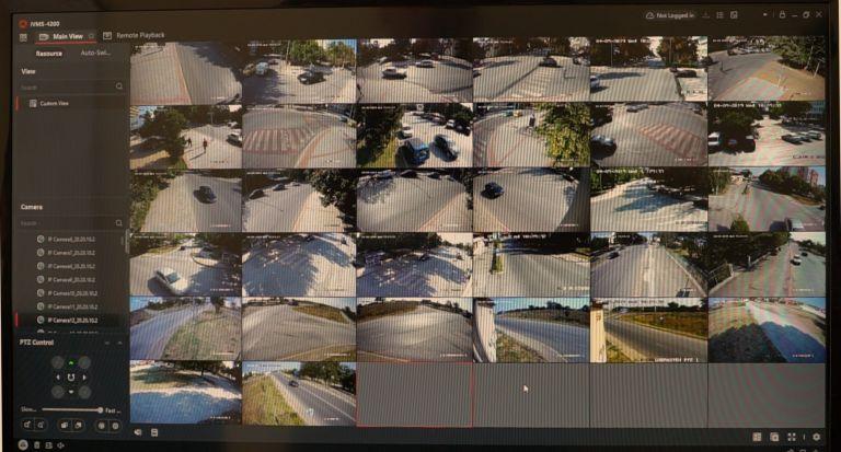 Системата за видеонаблюдение на А1