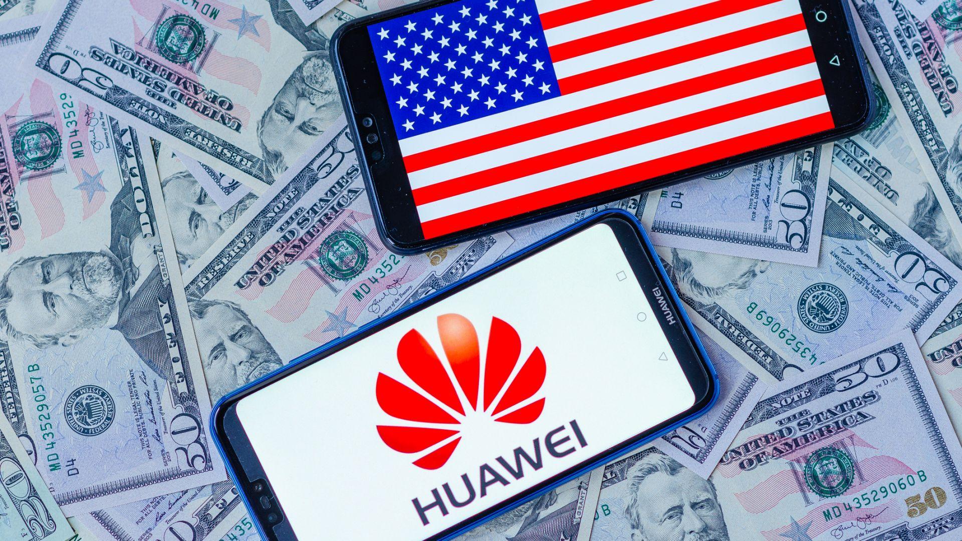 САЩ ще позволят на американските компании да работят с Huawei