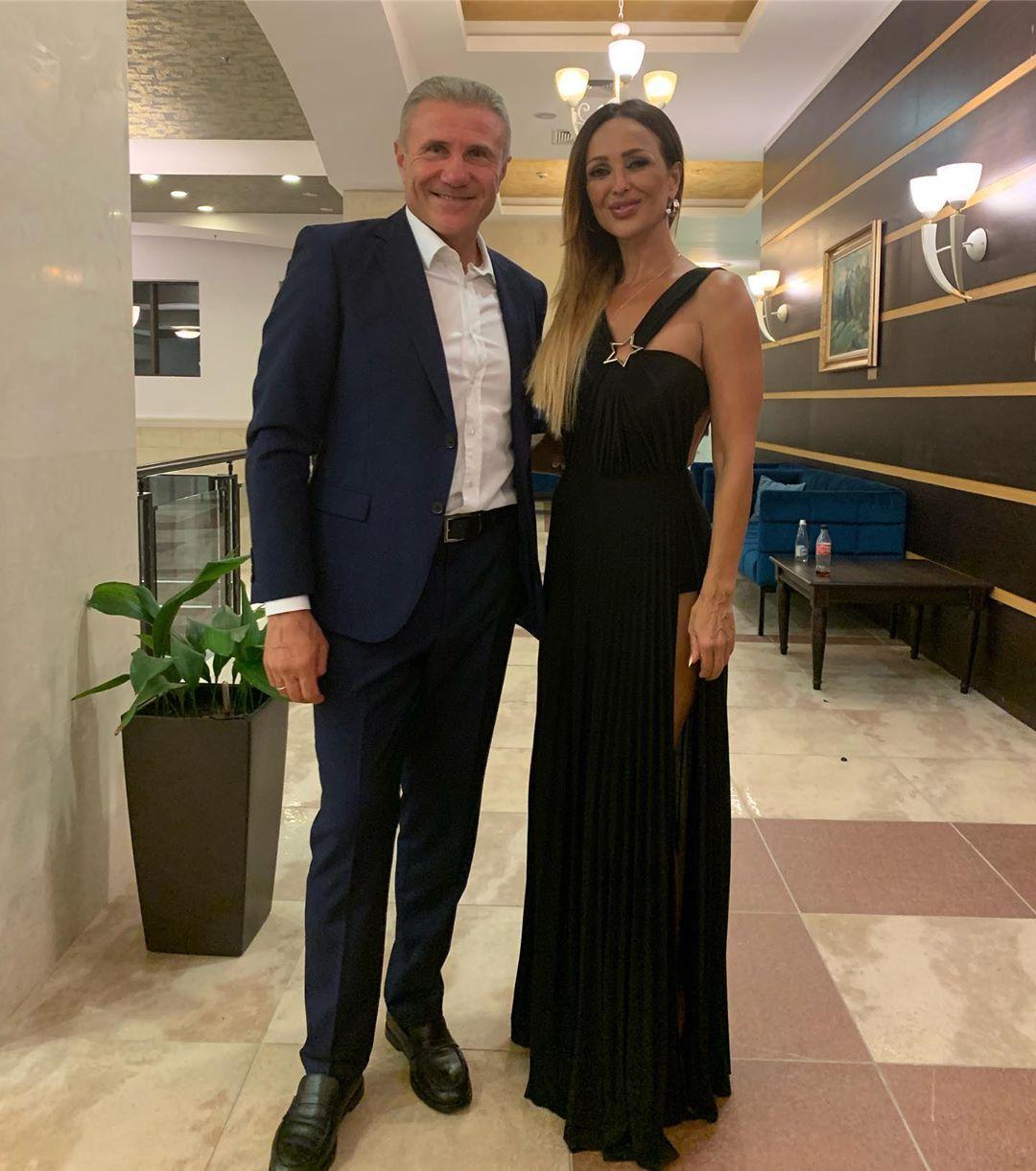 Глория и Сергей Бубка