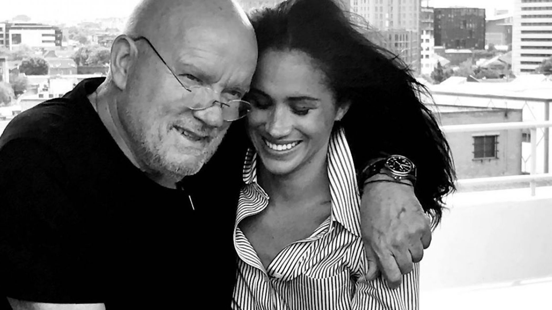 Меган Маркъл сподели невиждана досега снимка с Петер Линдберг