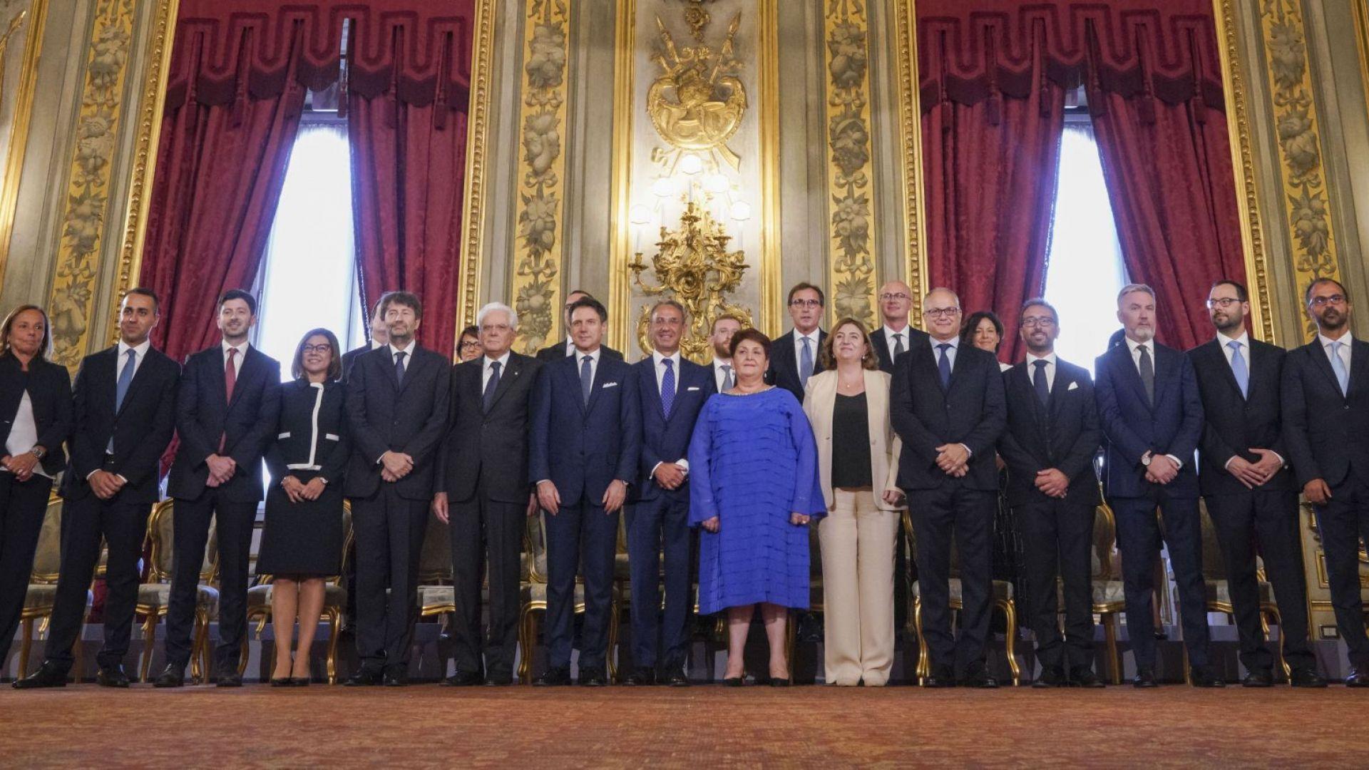 Новото правителство на Италия положи клетва