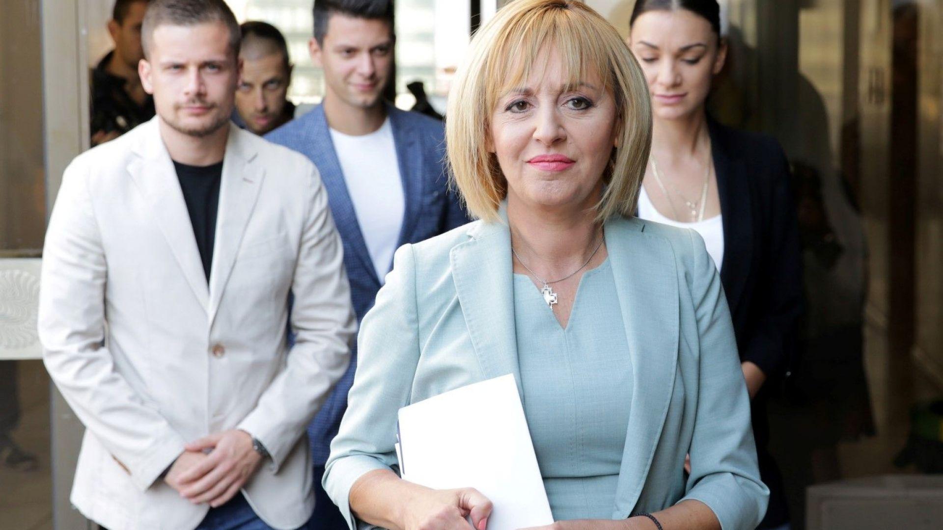 """ДБГ София подкрепя Мая Манолова за кмет на столицата, от """"Волт"""" може би ще застанат зад нея"""