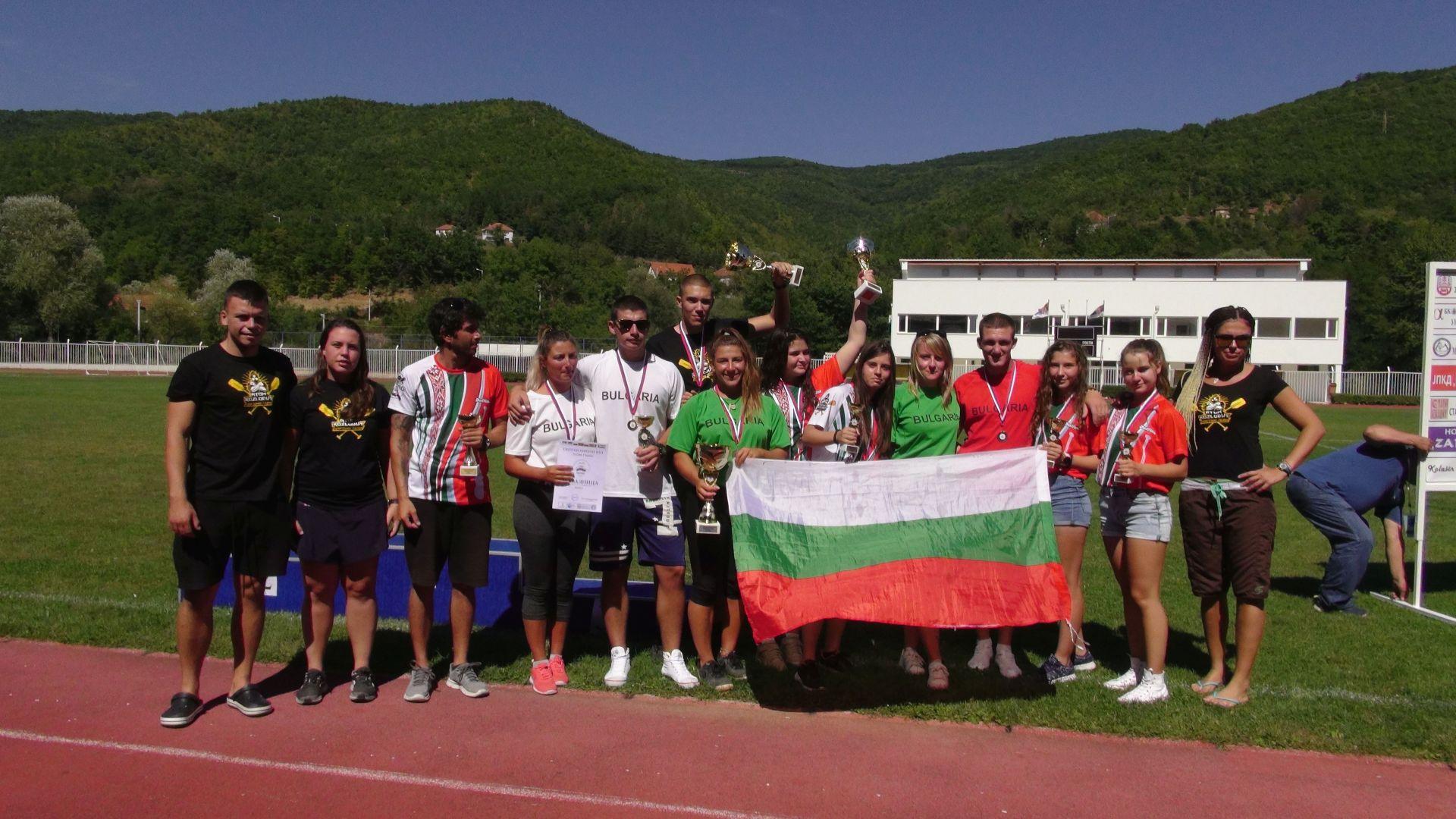 Двата български отбора, участвали в Световната купа - Рафтинг Тийм Респект и Атом (Козлодуй)