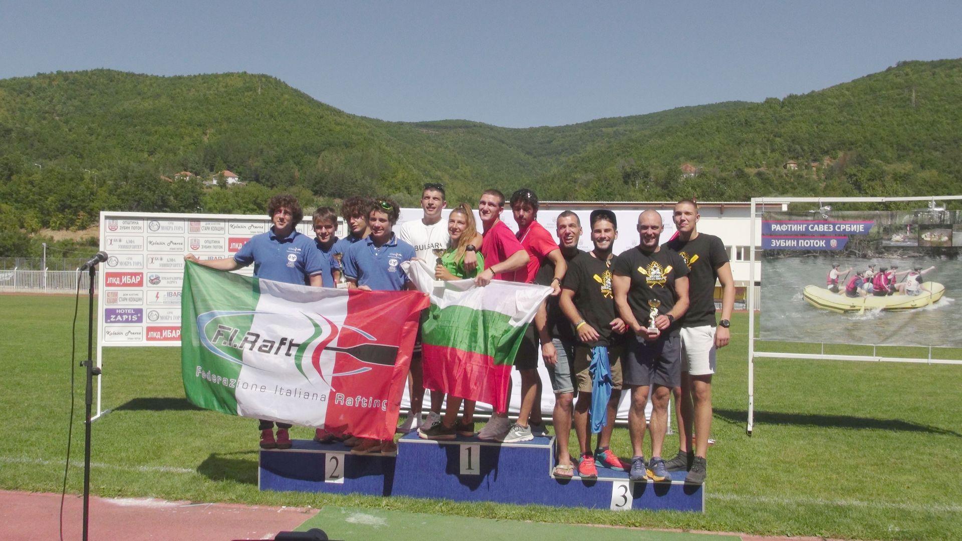 За първи път българи взеха световна купа по рафтинг