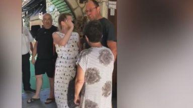 Ресторантьор в Несебър блъска и псува рускиня заради 1 лв. (видео)