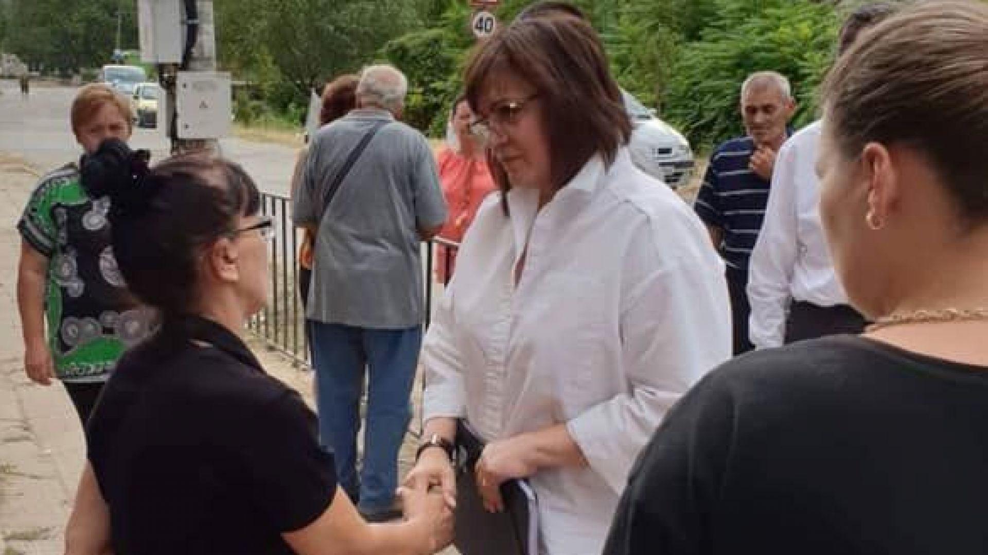 Корнелия Нинова: Пред мъката на хората нямат място партийните алтернативи