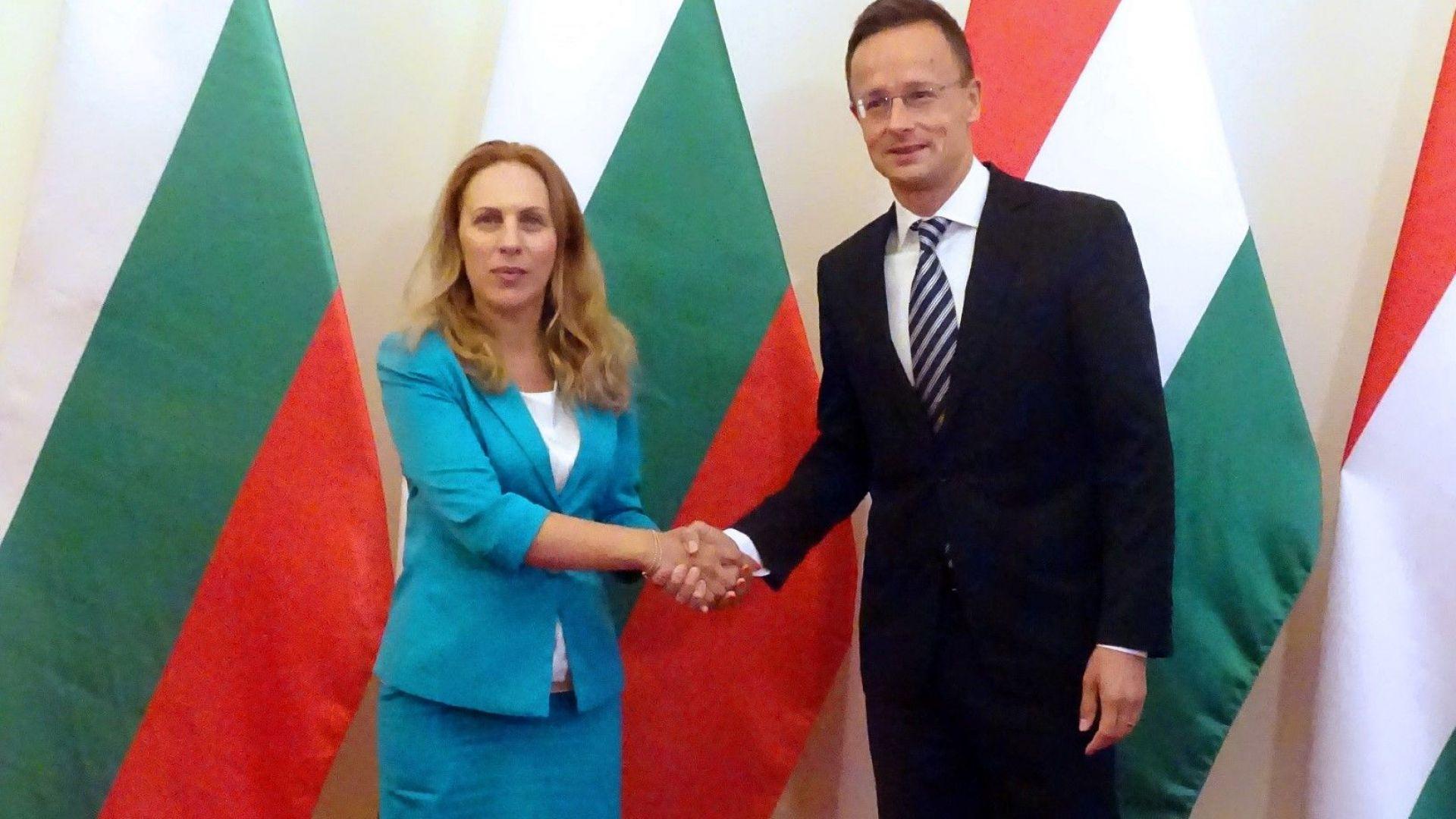 Марияна Николова: Стокообменът между България и Унгария надхвърля 1,6 млрд. евро