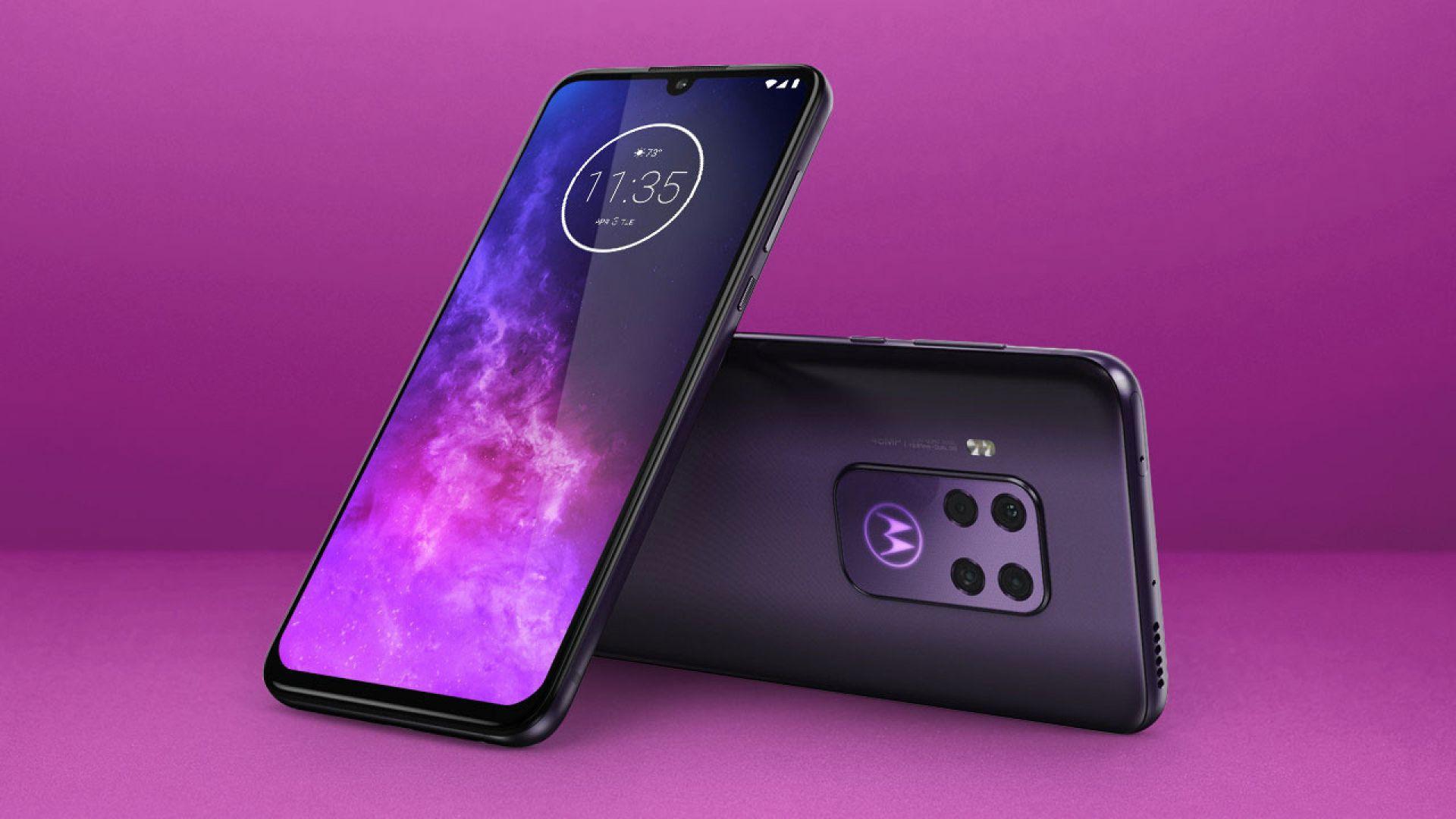 Motorola представи телефон с четворна камера
